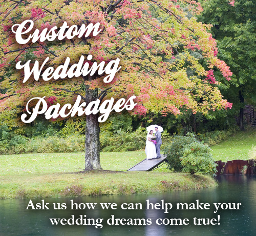 Custom Weddings at Allegan Country Inn